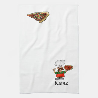 Pizza Fun Kitchen Towels to Customize!