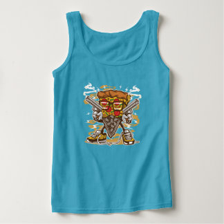 Pizza Gangster Women's Tanktop