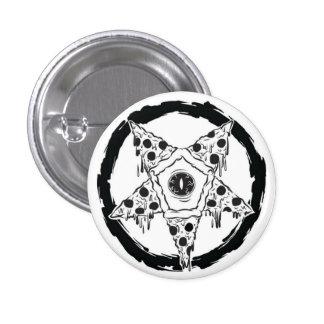 Pizza-gram Pizza Pentagram Button