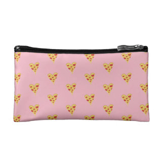 Pizza Heart Cosmetic Bag