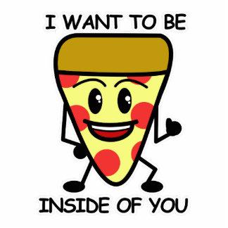 Pizza Inside You Photo Sculpture Magnet