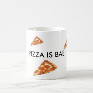 Pizza is Bae- Pepperoni Pizza Bae Mug