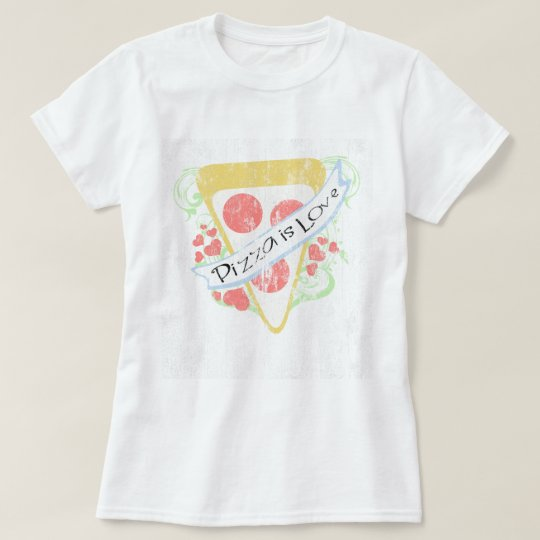 Pizza is Love DS T-Shirt