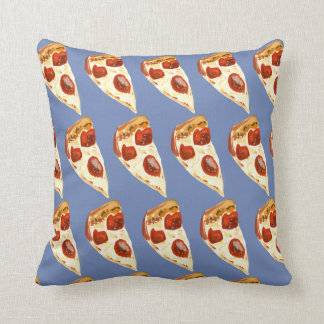 Pizza is my Love language Throw Pillow