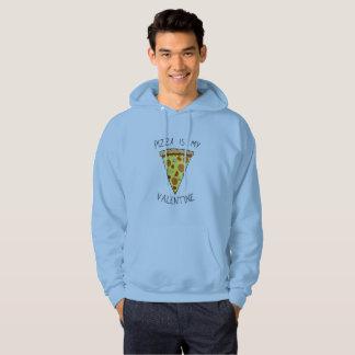 Pizza is my valentine 02 hoodie