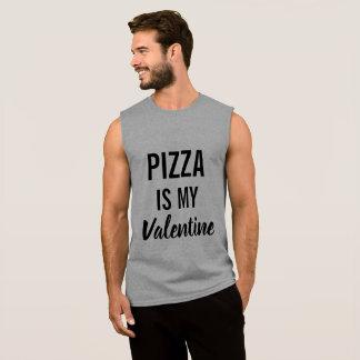 Pizza is My Valentine Sleeveless Shirt
