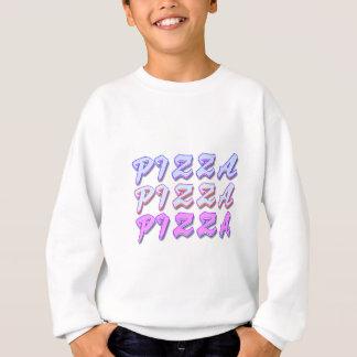 Pizza is RADICAL dude! Trendy vintage foodie Sweatshirt