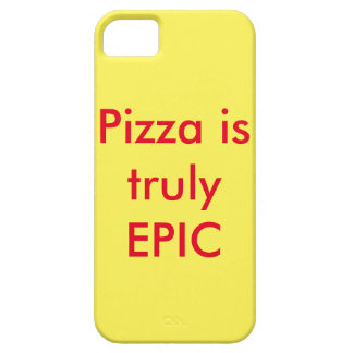 Pizza is truly epic phone case