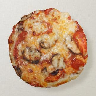 Pizza Italian Theme Round Pillow