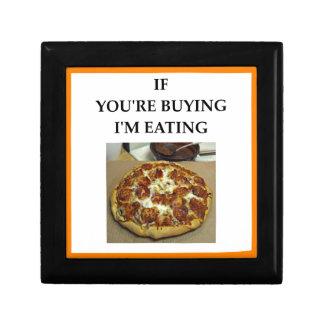 PIZZA JEWELRY BOX