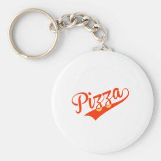 Pizza Keychain