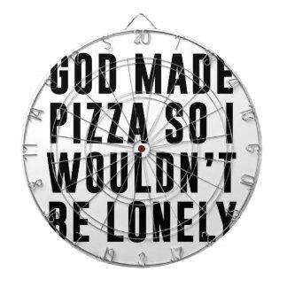 Pizza Lonely Dartboard