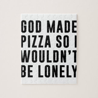 Pizza Lonely Jigsaw Puzzle