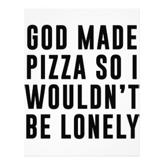 Pizza Lonely Letterhead