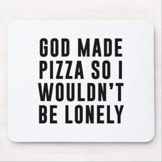Pizza Lonely Mouse Pad