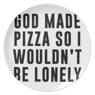 Pizza Lonely Plate