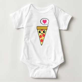 Pizza Love Baby Bodysuit