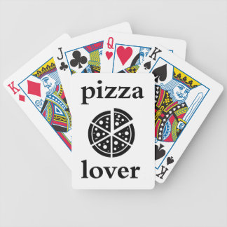 pizza lover bicycle playing cards