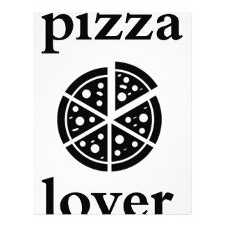 pizza lover letterhead