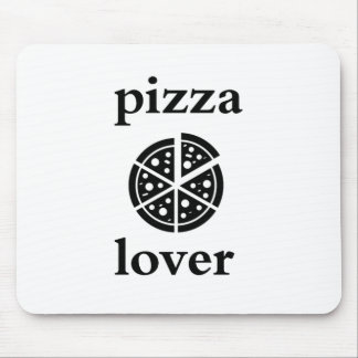 pizza lover mouse pad