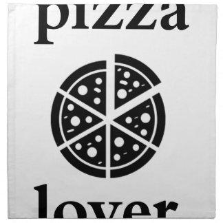 pizza lover napkin