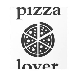 pizza lover notepad