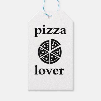 pizza lover pack of gift tags