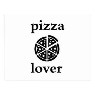pizza lover postcard