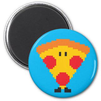 Pizza Magnet - Cyan