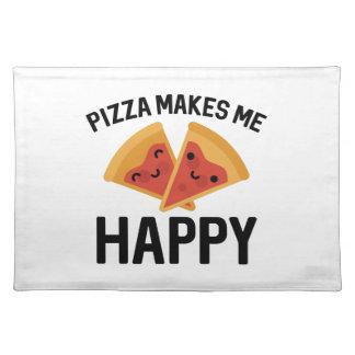 Pizza Makes Me Happy Placemat
