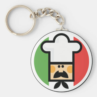 Pizza Man Keychain