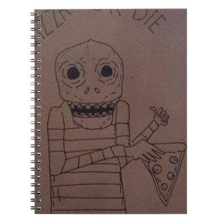 Pizza man notebook