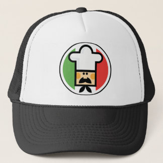 Pizza Man Trucker Hat