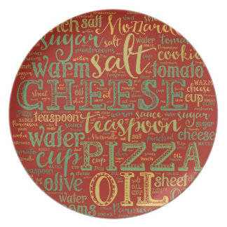 Pizza Melamine Plate