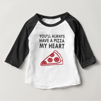 Pizza My Heart Baby T-Shirt
