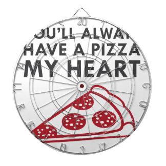 Pizza My Heart Dartboard