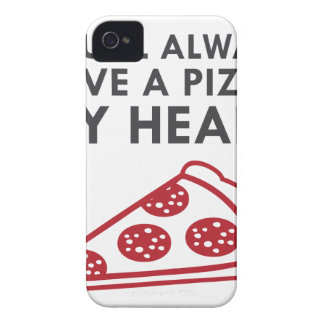 Pizza My Heart iPhone 4 Case-Mate Case