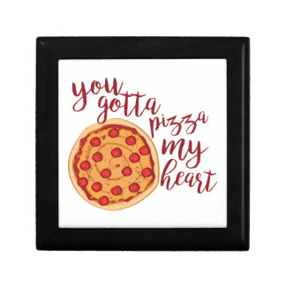 Pizza My Heart Jewelry Boxes