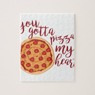 Pizza My Heart Jigsaw Puzzle