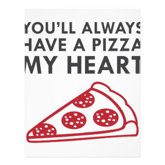 Pizza My Heart Letterhead