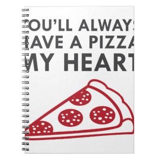 Pizza My Heart Notebook
