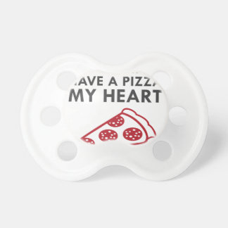 Pizza My Heart Pacifier