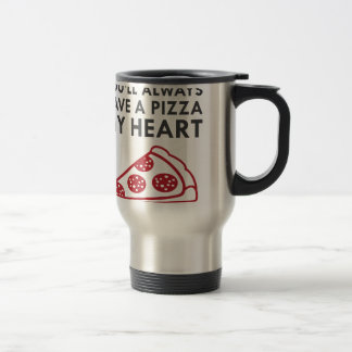 Pizza My Heart Travel Mug