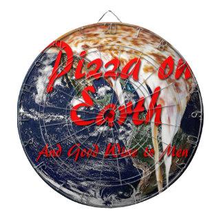 Pizza On Earth Dartboard