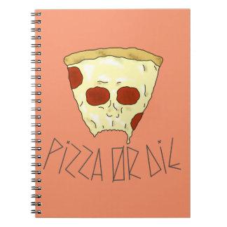 Pizza Or Die Notebook