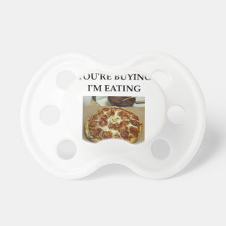 PIZZA PACIFIERS