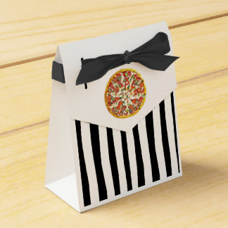 Pizza Party Candy Favor Bags for Birthday Party Favor Box