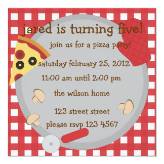 Pizza Party!. Card