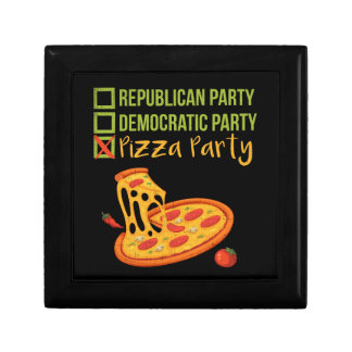 Pizza Party - Funny Novelty Voting Political Gift Box