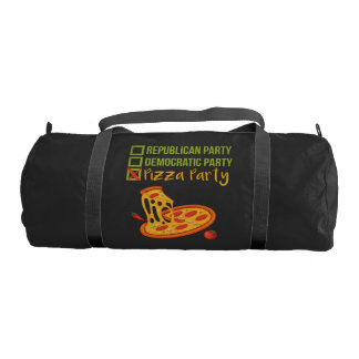 Pizza Party - Funny Novelty Voting Political Gym Bag
